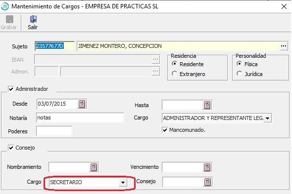 configuracion programa modelo 200