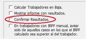 confirmar resultados irpf