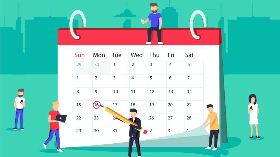 calendario laboral y fiscal 2021