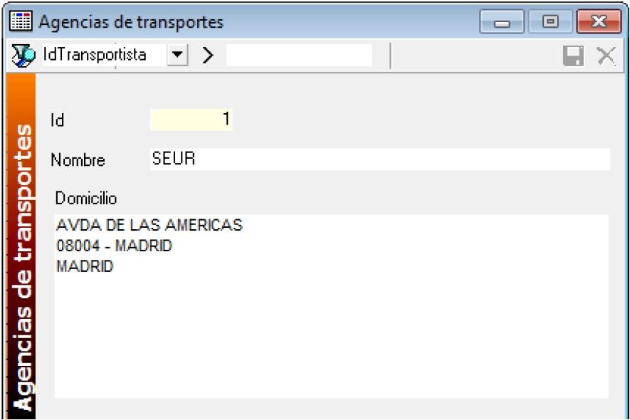 mantenimiento agencias transportes software