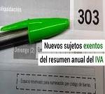 exoneracion modelo 390 resumen anual iva no obligacion programa fiscal msmodelos
