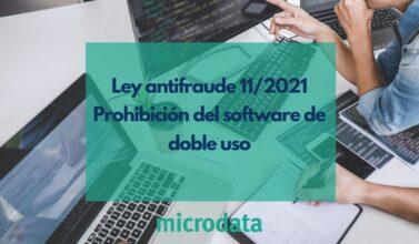 prohibición software de doble uso