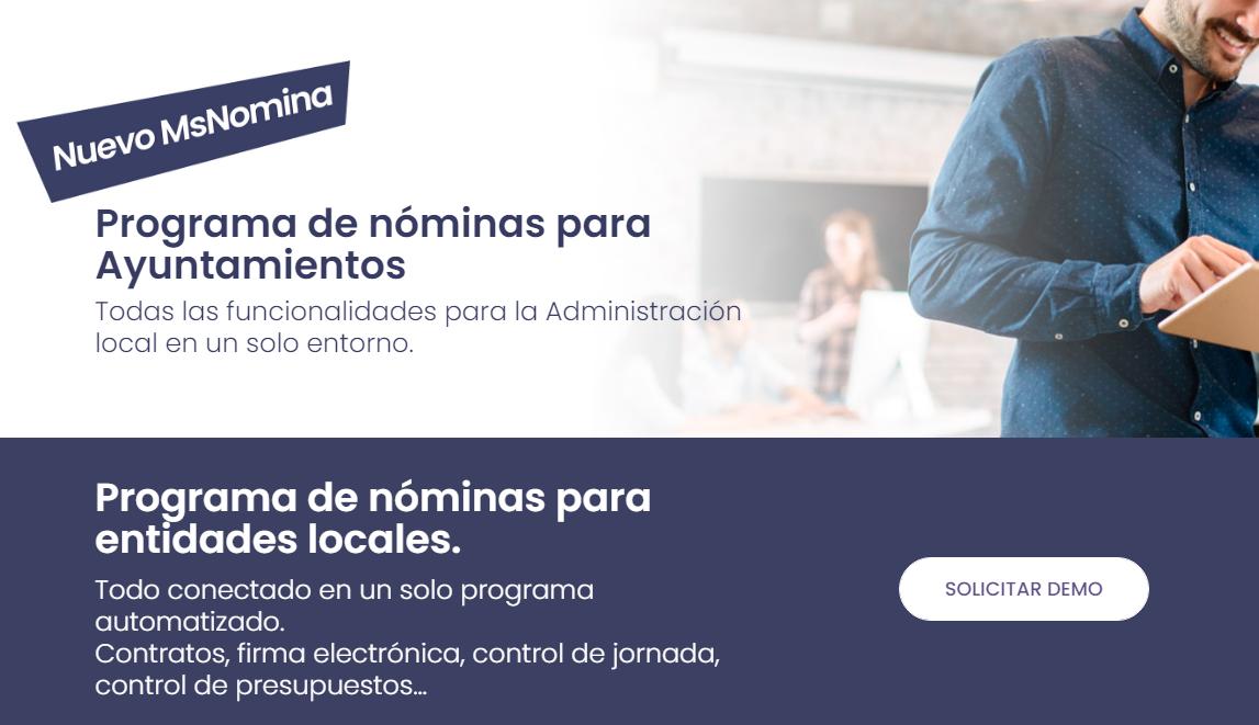 programa nominas ayuntamientos