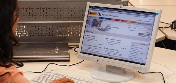imprimir borrador renta y validar